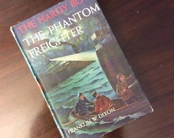 vintage children book... HARDY BOYS The PHANTOM Freighter No 26 c 1947 hardcover Book ...