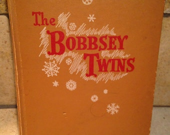 1950 Bobbsey Twins Merry Days Indoors and Out Children's Book