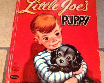 1952 Little Joe's Puppy Children's Book