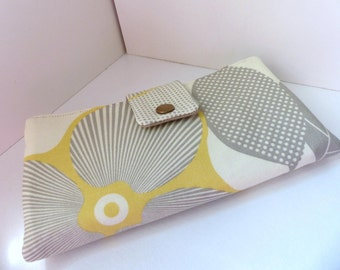 Must have wallet - Optic Blossom in Linen