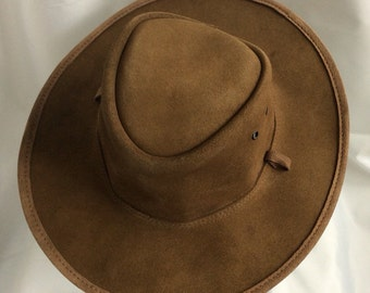 Australian made leather BC hat XS