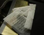 Deluxe Solid Perfume Sampler - Captured in Ribbon™ - For Strange Women™ - Natural Perfume - Artisan Gift Set