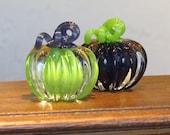 Mini Pumpkins, Set of Two...