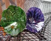 Green & Purple Glass Flow...