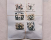 The Linen Garden Machine Sewn Gift Bags - Floral Cards