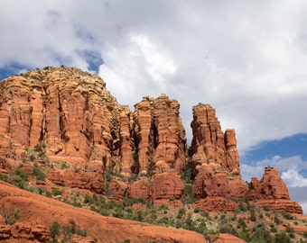 Sedona Arizona Red Rocks Photo Print - 11x14 Landscape Photography Print - American Southwest Art