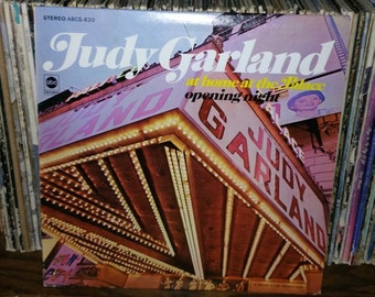 Judy Garland At Home At The Palace Opening Night Vintage Vinyl Record