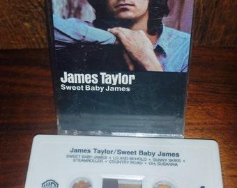 James Taylor Sweet Baby James Vintage Cassette Tape