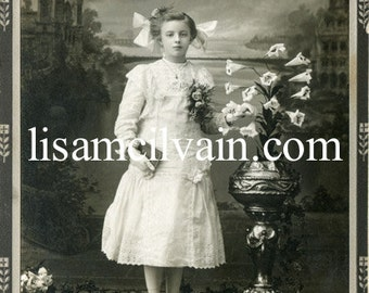 Victorian Confirmation Child