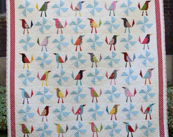 Busy Birds Quilt Pattern