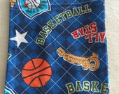 Basketball All Star Eco-Friendly Reusable Sandwich Bag - Go Green