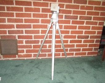 Vintage Aluminum Camera Tripod Davidson Star D Continental