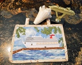 Quilted Cruise Ship Wall Hanging