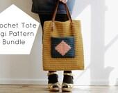 Crochet Tote Bag Digi Pat...