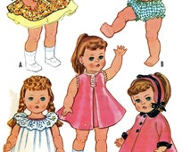 Ruthie Patsy Ann Doll Clothes PATTERNS 2466 for 20-21 inch Toddler or other Little Girl Dolls Quality Photocopy pattern