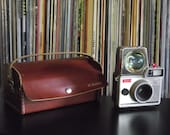 1960's Vintage Camera - Ansco Cadet III with Flash, Bulb, & Case
