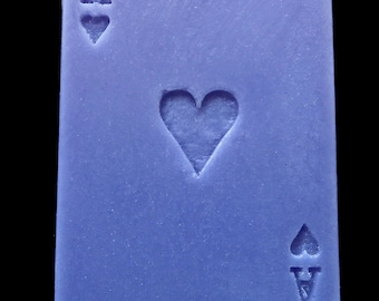 Ace of Hearts Playing Card Soap