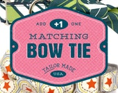 Dog Bow Tie: Add a Matching Dog Bow Tie, Dog Bowtie, Bow Tie Dog Collar, Dog Accessories
