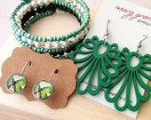 Jewellery Gift Set - Green