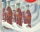 Vintage 1953 magazine ad advertisement - Coca-Cola