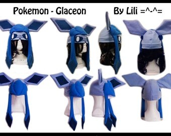 Pokemon Hat - Glaceon Or Shiny Glaceon
