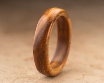 Size 9.5 - Guayacan Wood Ring No. 394