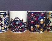 Bold Geometric Moroccan Style Patterned Mug