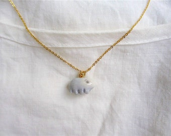 Petit Waterbear Pendant-pale blue