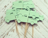 Reserved Listing Vintage Truck Centerpieces and Garland