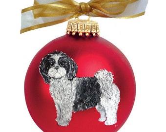 Shih tzu ornament | Etsy