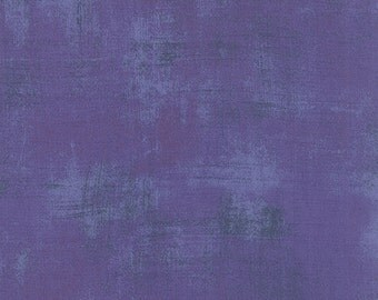 Hyacinth Grunge by Basic Grey Moda half yard New Color