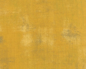 Mustard Grunge by Basic Grey for Moda  half yard New Color