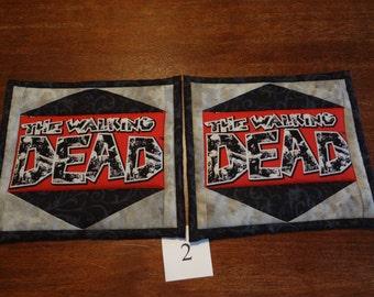 The Walking Dead  potholders - pair #2