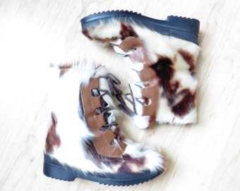 Fur Boots 7.5 8