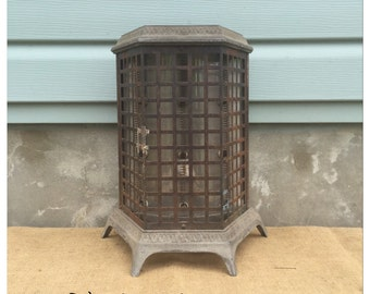 Heater - Antique Heater - Art Deco Heater - Thermador - Wall Mount Heater - Space Heater - Hanging Heater - Chic