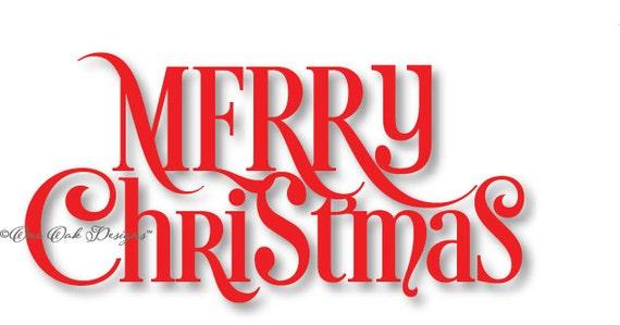 merry christmas svg cut file dxf pdf eps ai jpg