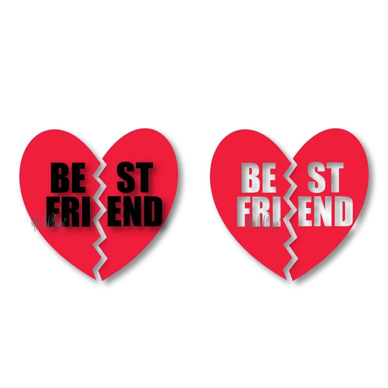 best friend heart - photo #5