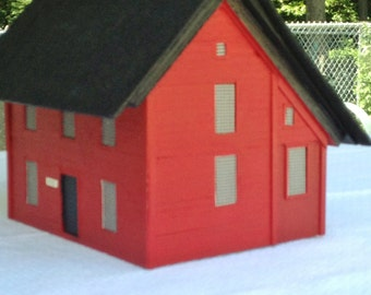 A Custom Birdhouse...Send Me A Photo and I will Build It This is an Example house for price below