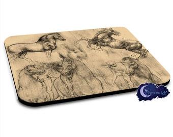 Leonardo DaVinci's Horses - Art Mousepad