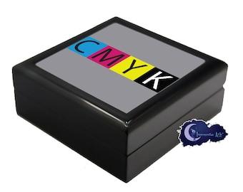CMYK Artist and Graphic Designer - Jewelry and Keepsake Box