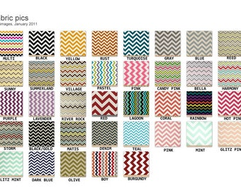 """6"""" Super Size Coupon Organizer Attaches to Your Shopping Cart - Pick Your Color Chevron  Zig Zag"""