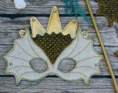 Poseidon Merman Merpeople Mermaid King of the Sea Cosplay Mask Prop Costume