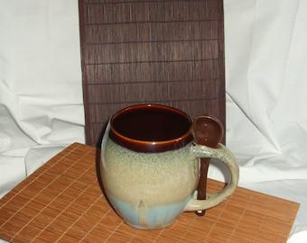 Woven Wood Coaster, Bamboo Mug Rug