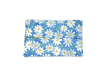 Fabric Flower Tissue Holder -  Daisy's
