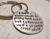 David Bowie Keychain.  I don't know where I am going from here... Ziggy Stardust. RIP David Bowie. You will be missed. Bowie fan
