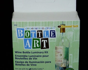 Luminary Bottle Art Kit For Use With G2 Bottle Cutter SALE While Supplies Last