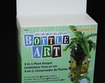 3 In 1 Planter Keeper Bottle Art Kit For Use With G2 Bottle Cutter SALE