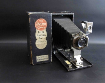 Antique Kodak Film Premo No. 1 Camera / Circa 1910 with Original Box