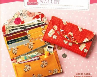 Have it All Wallet Sewing Pattern by Straight Stitch Society