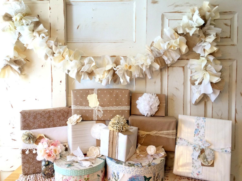 burlap wedding decoration burlap and lace wedding banner. Black Bedroom Furniture Sets. Home Design Ideas